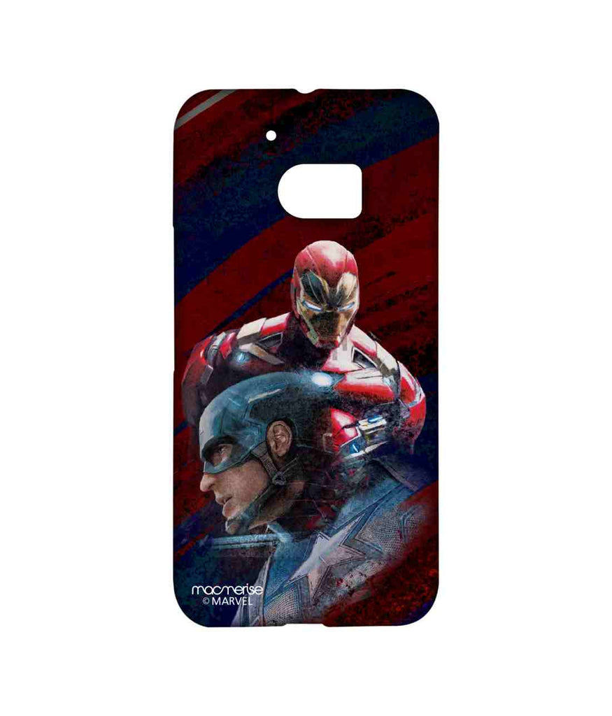Captain America: Civil War Ironman and Captain America Friends turned Foes Sublime Case for HTC 10