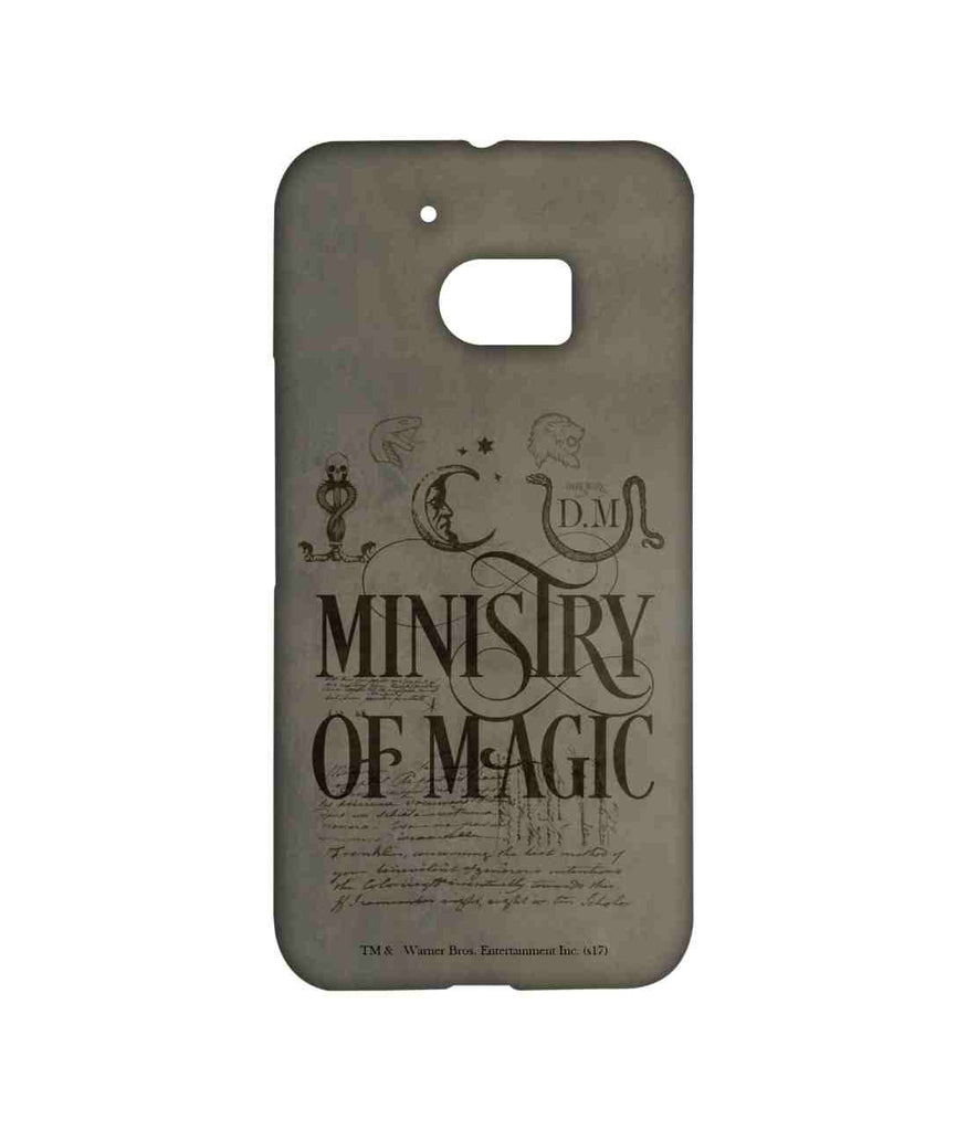 Harry Potter Ministry Of Magic Sublime Case for HTC 10