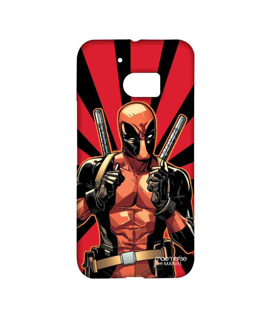 Comics Deadpool Smart Ass Deadpool Sublime Case for HTC 10