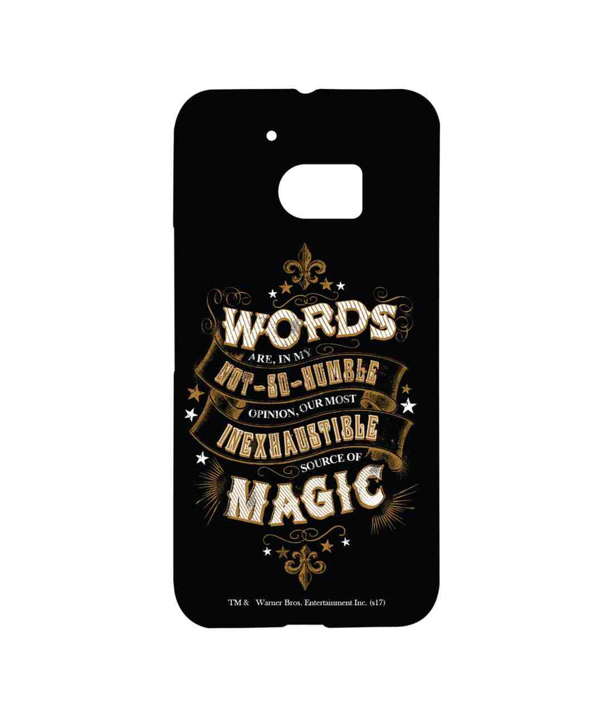 Harry Potter Words and Magic Sublime Case for HTC 10
