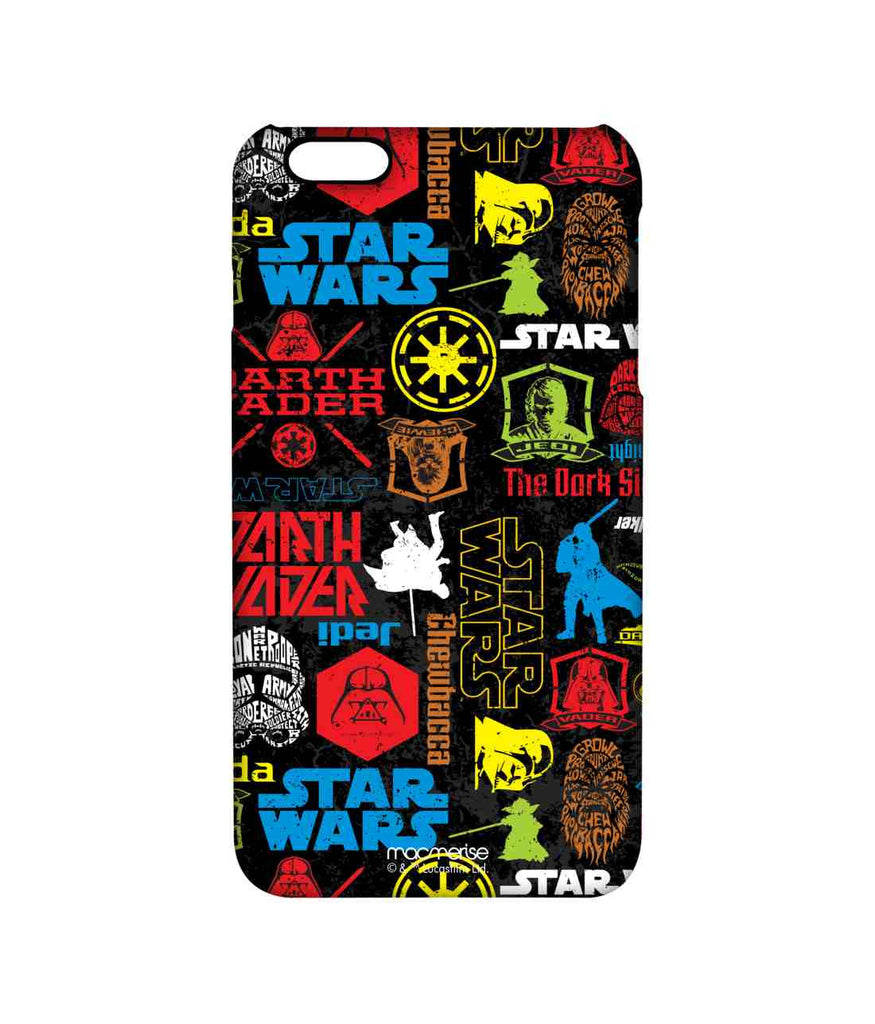 Star Wars Darth Vader Yoda and Jedi Star Wars Mashup Pro Case for iPhone 6 Plus