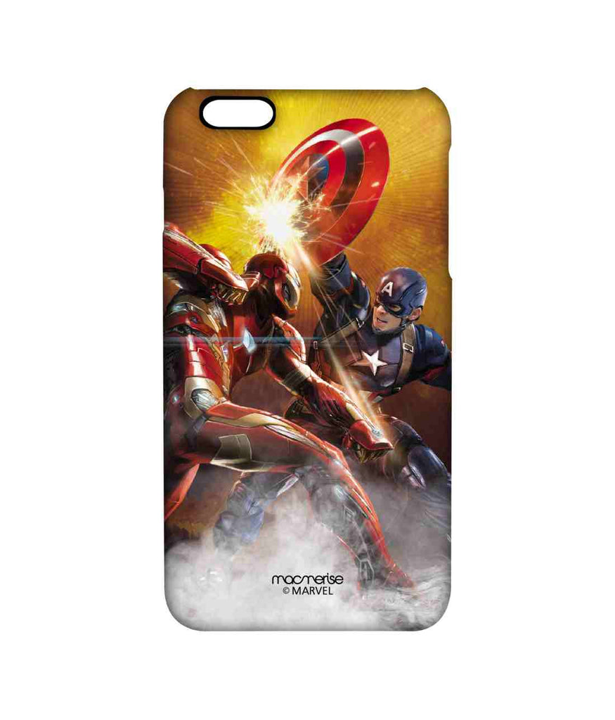 Captain America: Civil War Ironman and Captain America Ultimate Showdown Pro Case for iPhone 6 Plus
