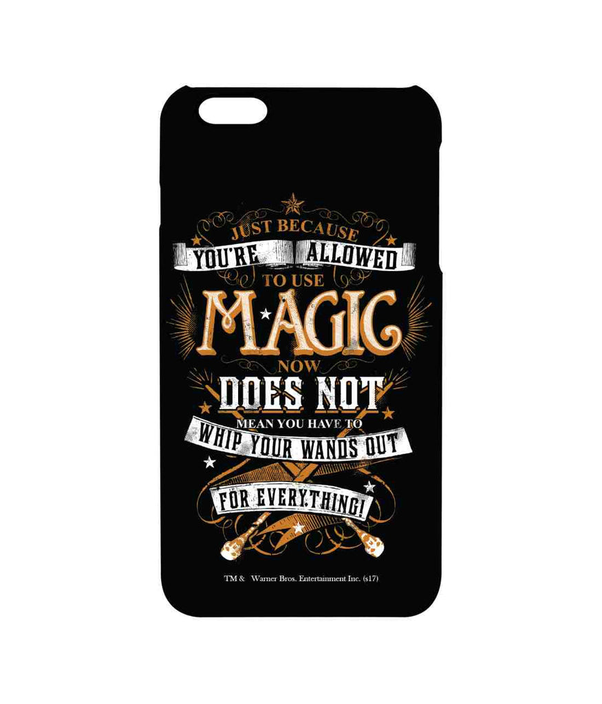 Harry Potter Wand Wisdom Pro Case for iPhone 6 Plus
