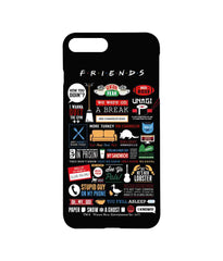 Friends Infographic Pro Case for iPhone 7 Plus