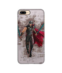 Thor in Action Pro Case for iPhone 8 Plus - Multicolor