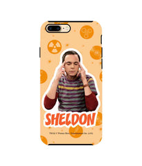 The Big Bang Theory Sheldon Explosion Tough Case for iPhone 8 Plus - Multicolor