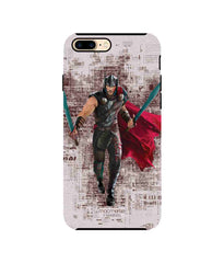 Thor in Action Tough Case for iPhone 8 Plus - Multicolor