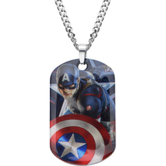 Captain America Pendants & Dog Tags Dog Tag