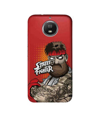Street Fighter Beard Club  Street Fighter Ryu Sublime Case for Moto G5s Plus - Multicolor