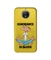 Suppandi Ignorance is bliss Sublime Case for Moto G5s Plus - Multicolor
