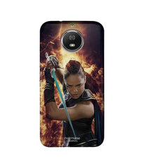 Thor Valkyrie in Action Sublime Case for Moto G5s Plus - Multicolor