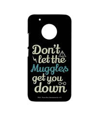 Harry Potter Muggle Theory Sublime Case for Moto G5 Plus