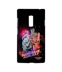 Guardians of the Galaxy Star Lord Groot Thanos Gamora and Rocket Raccoon Guardians Ensemble Sublime Case for OnePlus 2