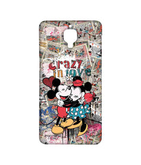 Disney Minnie Mouse and Mickey Mouse Crazy in love Sublime Case for OnePlus 3
