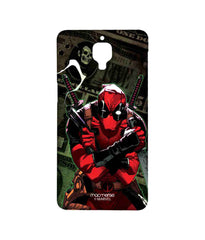 Comics Deadpool Dollar Sublime Case for OnePlus 3