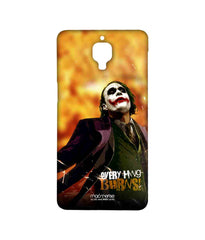 Batman The Dark Knight Joker Everything Burns Sublime Case for OnePlus Three