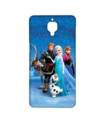 Disney Frozen Elsa Anna Olaf and Frozen Together Sublime Case for OnePlus 3
