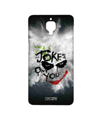 Batman The Dark Knight Joker The Jokes on you Sublime Case for OnePlus Three