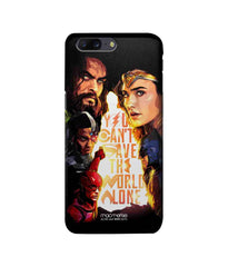 Justice League Justice Canvas Art Pro Case for OnePlus 5 - Multicolor