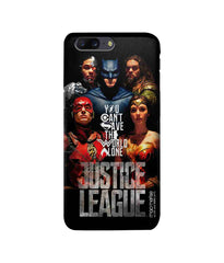 Justice League Justice League Poster Pro Case for OnePlus 5 - Multicolor
