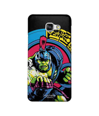 Hulk Graffiti Sublime Case for Samsung C7 Pro - Multicolor