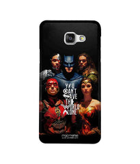Justice League Justice League Poster Sublime Case for Samsung C7 Pro - Multicolor