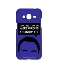 Big Bang Theory Sheldon Facts Sublime Case for Samsung J3 (2016)