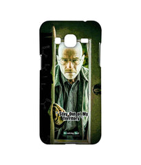 Breaking Bad Walter White Stay Out of My Territory Sublime Case for Samsung J3 (2016)