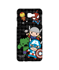 Kawaii Art Ironman Hulk Captain America Thor and Spiderman Kawaii Art Marvel Comics Sublime Case for Samsung J7 Prime