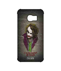 Batman The Dark Knight Joker Agent of Chaos Pro Case for Samsung S6 Edge