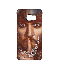 Pirates of the Caribbean Jack Sparrow Silence of Jack Pro Case for Samsung S6 Edge