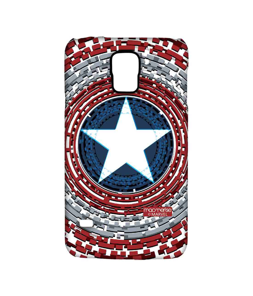 Civil War Captain America Captains Shield Engineered Sublime Case for Samsung S5