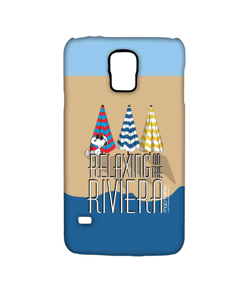 Snoopy Relaxing on the Riviera Sublime Case for Samsung S5
