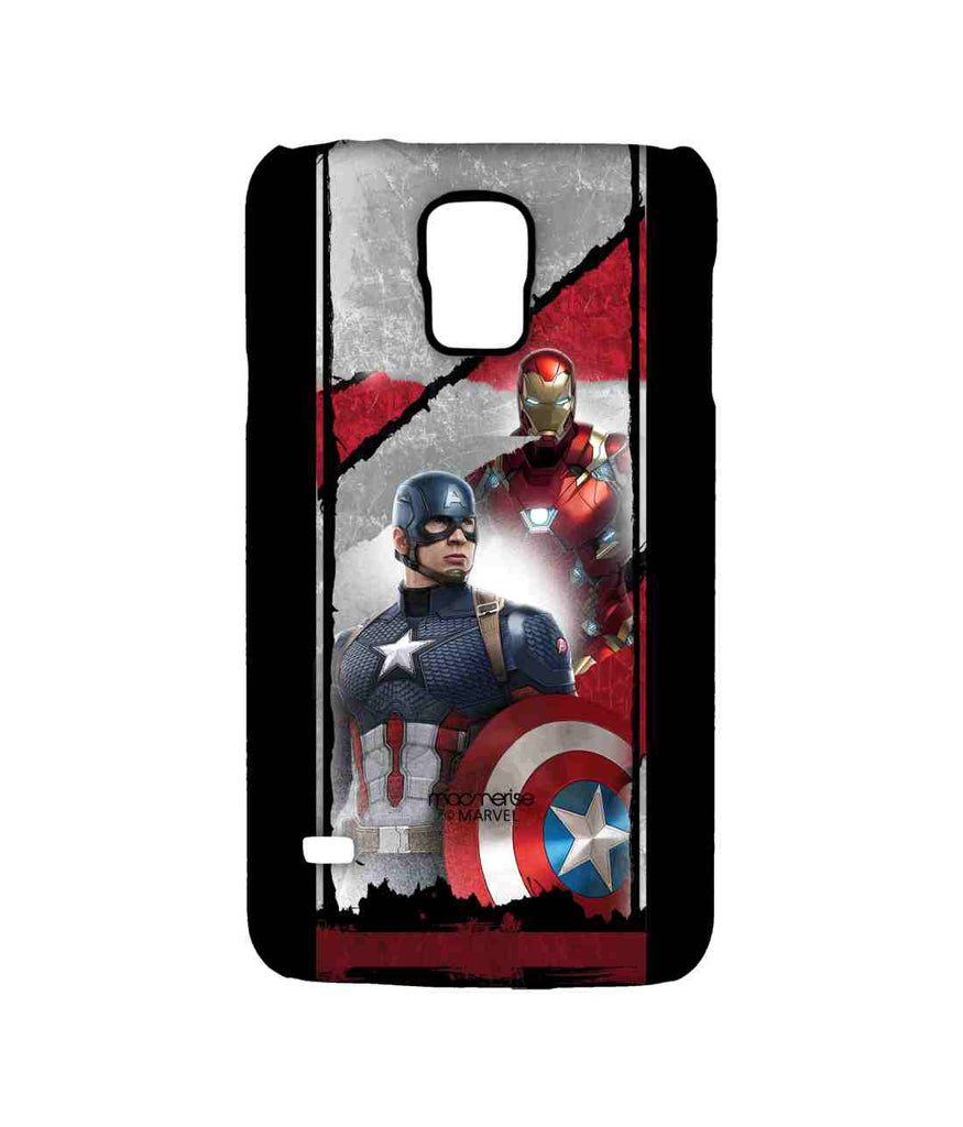 Captain America: Civil War Ironman and Captain America The Civil War Sublime Case for Samsung S5