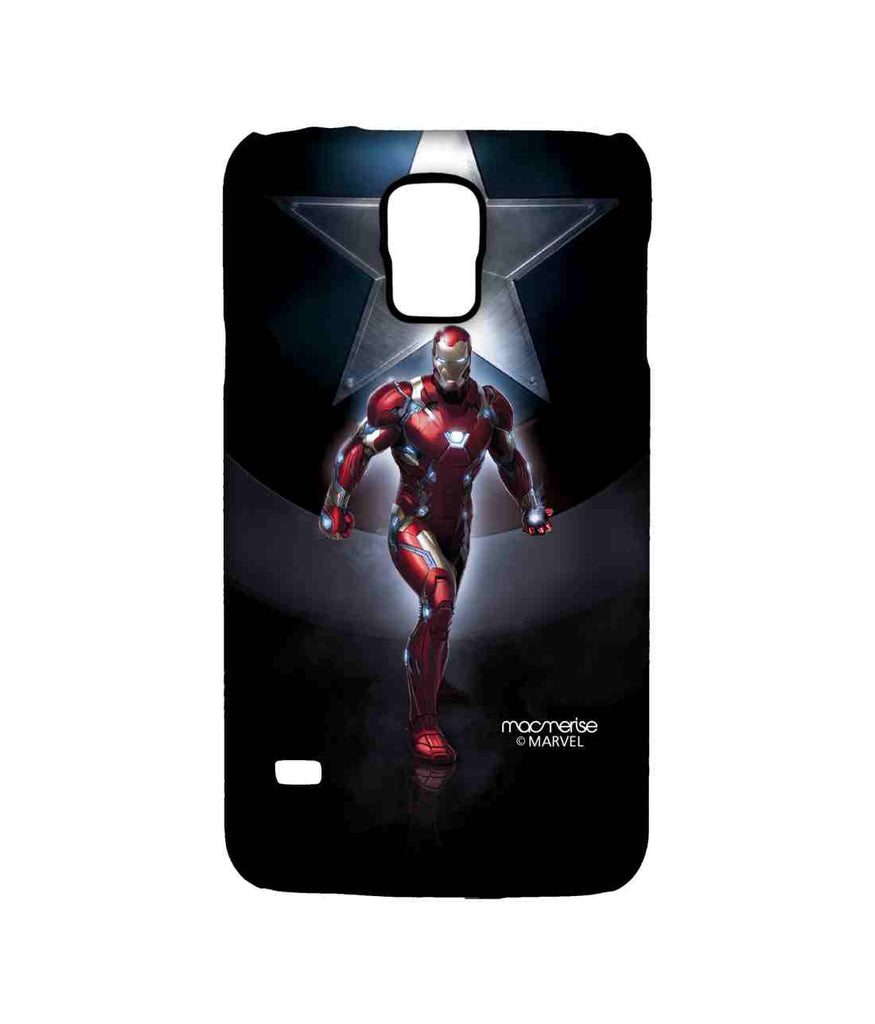 Captain America: Civil War Ironman and Captain America Watchful Ironman Sublime Case for Samsung S5