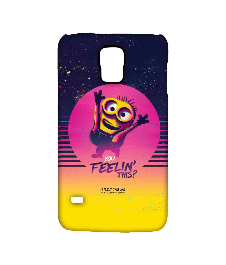 Despicable Me Minion Bob You Feeling This Sublime Case for Samsung S5
