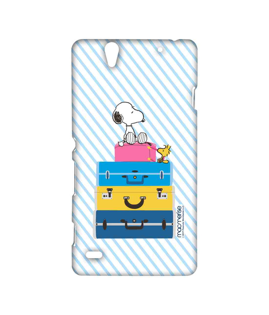 Snoopy All Packed Up Sublime Case for Sony Xperia C4