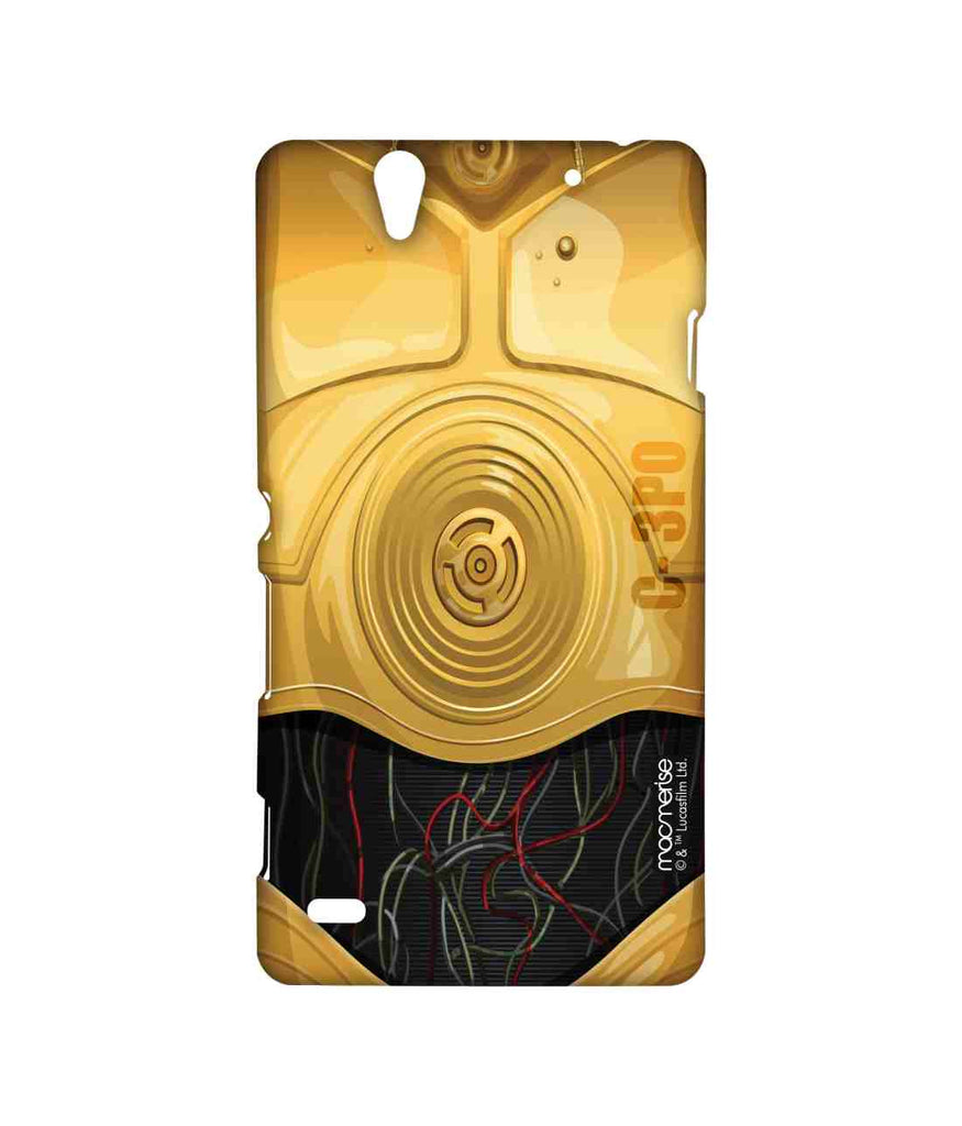 Star Wars C3PO Attire C3PO Sublime Case for Sony Xperia C4