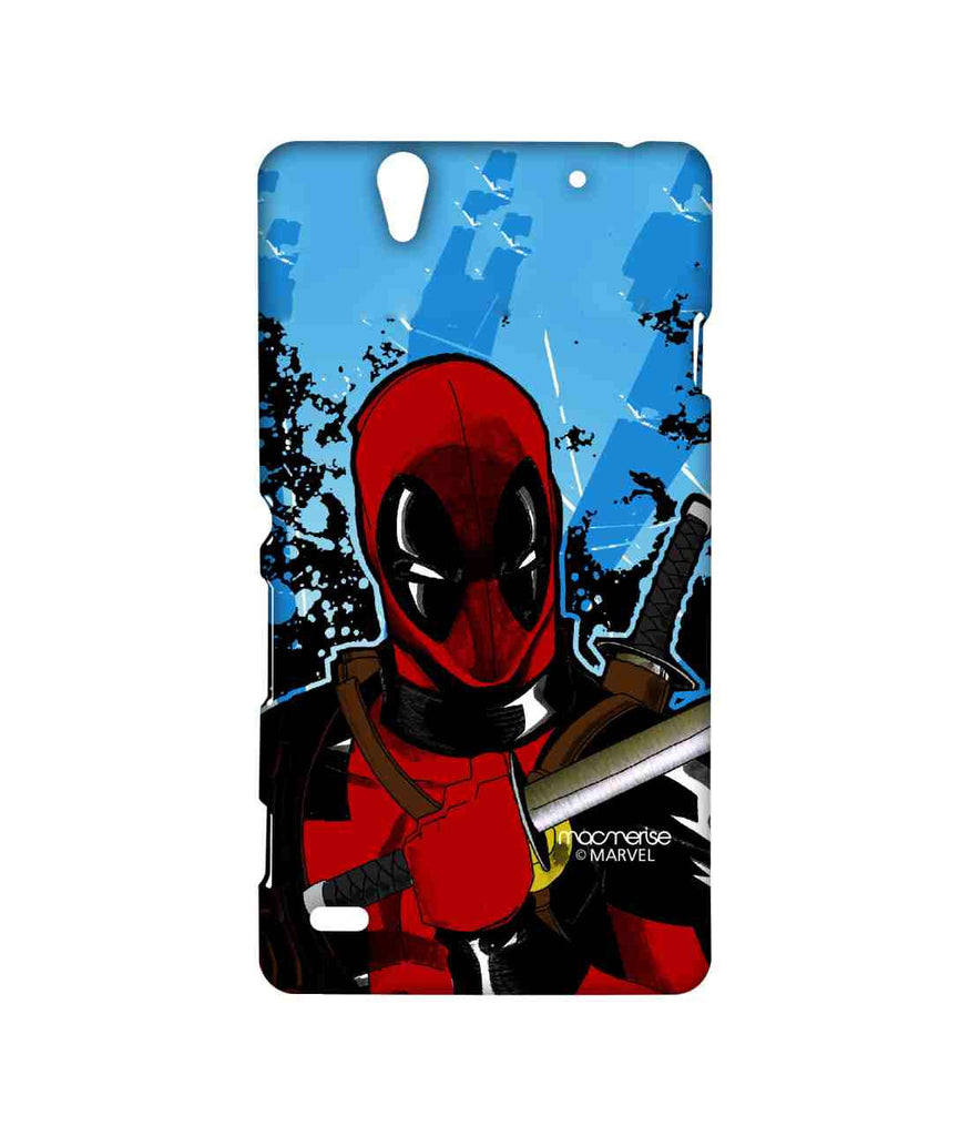 Comics Deadpool Fury Sublime Case for Sony Xperia C4