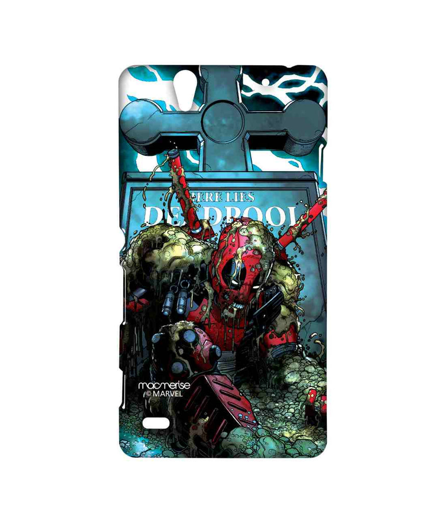 Comics Deadpool Here lies Deadpool Sublime Case for Sony Xperia C4