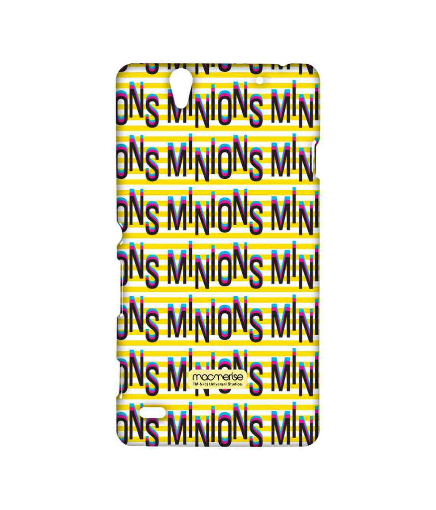 Despicable Me Minions Word Art Sublime Case for Sony Xperia C4