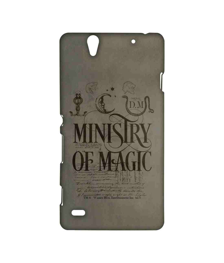Harry Potter Ministry Of Magic Sublime Case for Sony Xperia C4