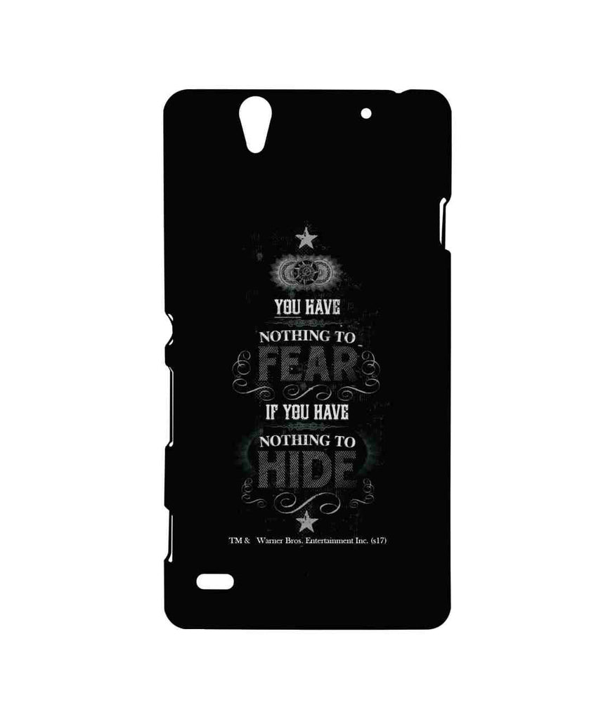 Harry Potter Nothing to Hide Sublime Case for Sony Xperia C4