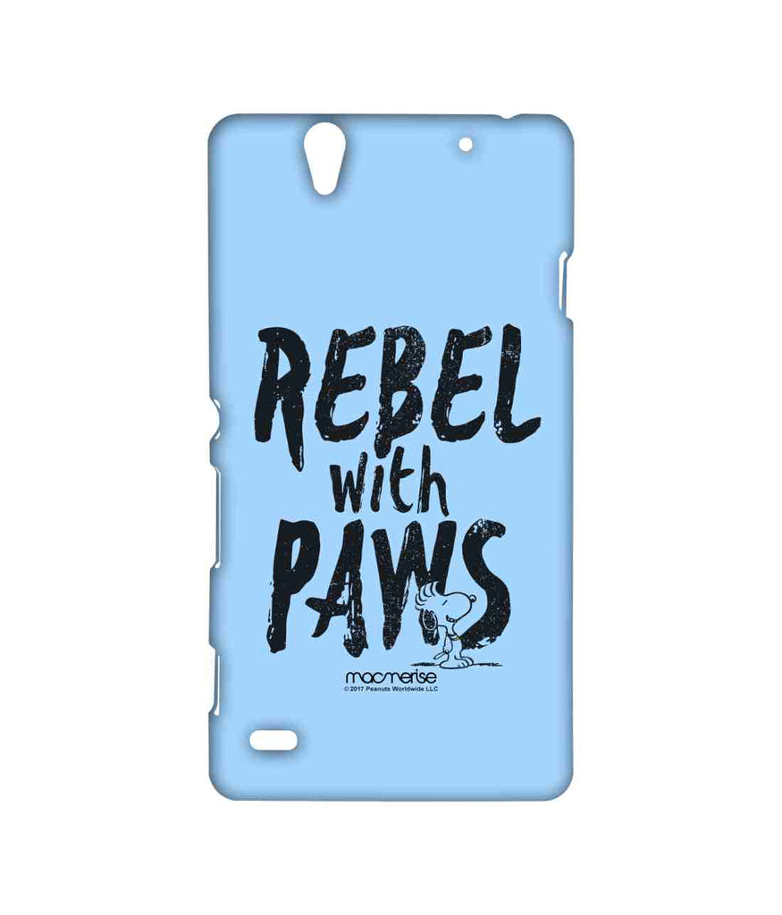 Snoopy Rebel With Paws Sublime Case for Sony Xperia C4