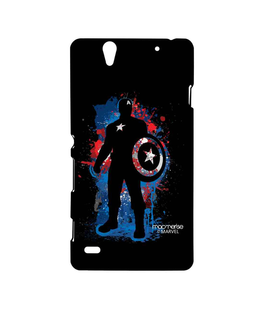 Civil War Captain America Spray Splash Captain Sublime Case for Sony Xperia C4