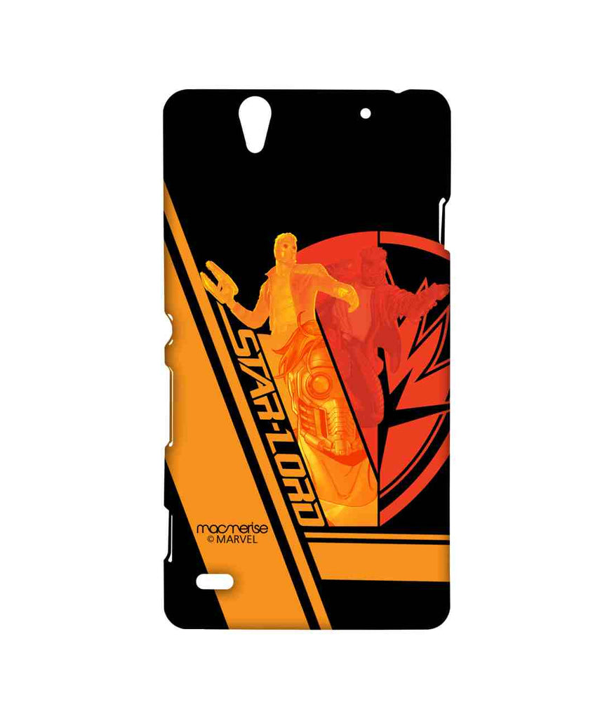 Guardians of the Galaxy Star Lord Fury Sublime Case for Sony Xperia C4