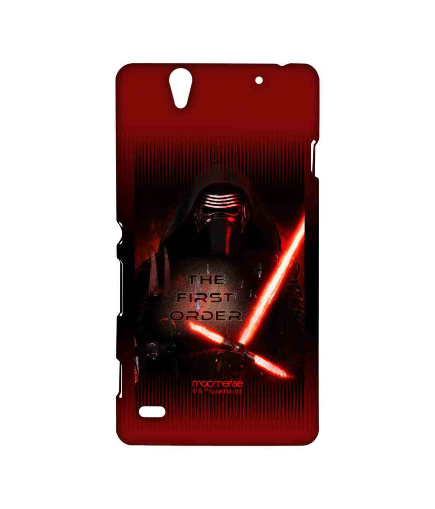 Star Wars Force Awakens Kylo Ren The First Order Sublime Case for Sony Xperia C4