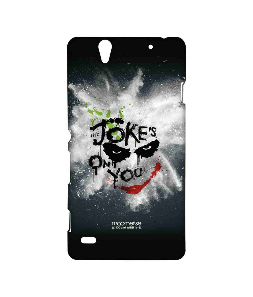 Batman The Dark Knight Joker The Jokes on you Sublime Case for Sony Xperia C4