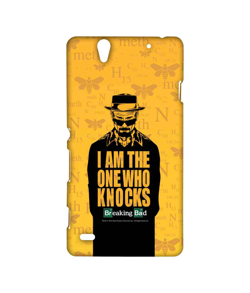 Breaking Bad Walter White The One who Knocks Sublime Case for Sony Xperia C4