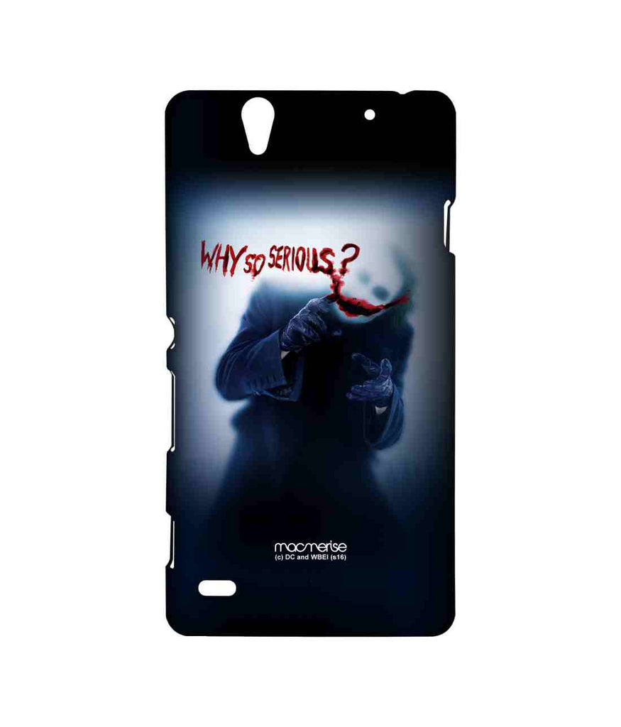 Batman The Dark Knight Joker Why So Serious Sublime Case for Sony Xperia C4